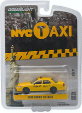 Greenlight 1/64 NYC New York City Taxi Cab Ford Crown Vic - 29773