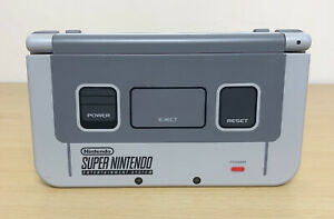 New Nintendo 3DS XL SNES Super Nintendo Edition Grey Console - Fully Tested