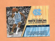 JAMES WORTHY  NORTH CAROLINA UPPER DECK 2011 CARD # 40