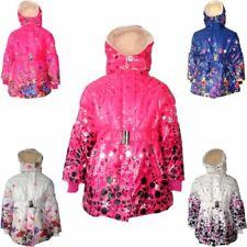 Manteaux, vestes et tenues de neige haute visibilité en polyester pour fille de 2 à 16 ans Hiver