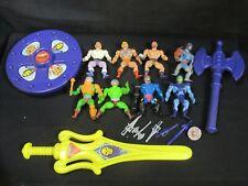"""Lot """"Les Maîtres de l'Univers"""" - MOTU - He Man - Mattel"""