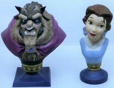 Disney WDCC, Belle & Beast Sculpture Set + Zertifikat + Box