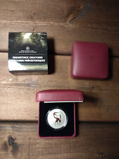 2013 Royal Canadian Mint 25 Cent Glow in the Dark Colour Coin Quetzalcoatus