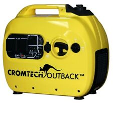 Inverter Generator Cromtech Pure Sine Wave 2.4 kVA Quiet Portable Power Camping