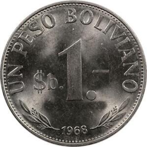 BOLIVIA -  PESO BOLIVIANO - 1968
