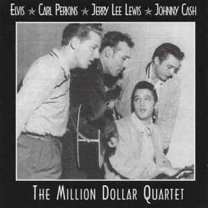 The MILLION DOLLAR QUARTET - Elvis Carl Perkins Jerry Lee Lewis J Cash CD 99 dre