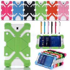 For Samsung Galaxy Tab A E S2 Tab 4 Kids Safe Shockproof Silicone Case Cover AZ