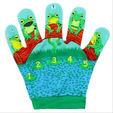 Five Little Speckled Frogs Nursery Rhymes Song Mitt Puppet Company EYFS