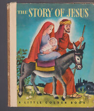 The Story of Jesus Little Golden Book 2nd Print Beatrice Alexander