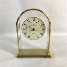 Vintage Seth Thomas Carina Clock by Talley Solid Brass W. Germany-Made Used