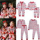 Christmas Family Women Baby Kids Deer Sleepwear Nightwear Pajamas Set Pyjamas