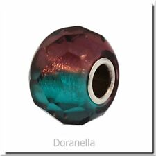 Authentic Trollbeads Glass 60184 Turquoise Prism :1