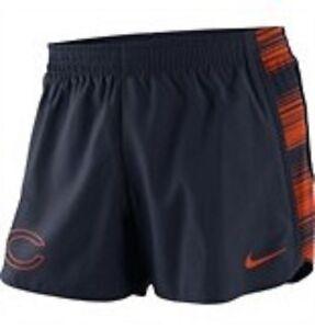 Chicago Bears Women's Nike Warp Speed Pacer Shorts