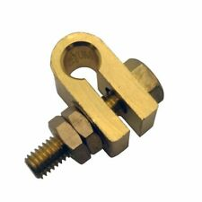 Earth Rod Machined Clamp Solid Brass Conductor For 38 Copper Grounding Rods