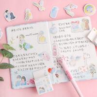 Kawaii Album Decor Christmas Stickers Diary Label Scrapbooking Paper Sticker