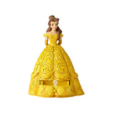 Disney Traditions Jim Shore 2018 Princess BELLE with Chip Charm Figurine 6000963