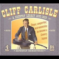Cliff Carlisle - Country Legacy [New CD] Boxed Set, Rmst