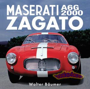 MASERATI A6G2000 ZAGATO BOOK BAUMER RACING A6G 2000 GT WALTER A6/200