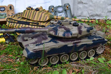 2.4GHZ LARGE RC TWIN BATTLE TANK RC RADIO REMOTE CONTROL T90 Vs Tiger King