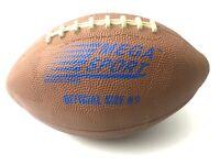 Vintage Men's Toy MEGA Sport Football Ball Official Size 9 Kids Decor Equipment