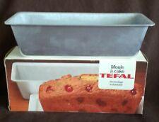 VINTAGE TEFAL MOULE CAKE TIN LOAF TRAY - 26 CM x 7 CM  - BOXED