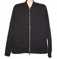 Hugo Boss Mercerised Black Men's Cotton Slim Fit Jacket Size 3XL NEW