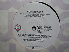 "Rod Stewart ""Ole Ola (Mulher Brasileira)"" 1978 WARNER BROS Oz 7"" 45rpm"