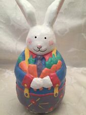 """Midwest Of Cannon Falls Easter Bunny Rabbit Roly Poly Decoration Figurine 6"""""""