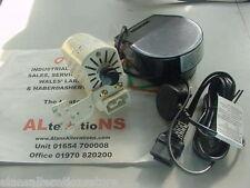 YDK Domestic sewing machine motor and pedal set ANTI CLOCKWISE ROTATION