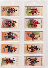 1905 Player's Cigarettes - Riders Of The World Full Set - (Grade VG+-EX) WH