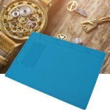 Non-slip Plastic Mat Work Bench for Wrist Watch Jewelry Phone Repair Holder Tool