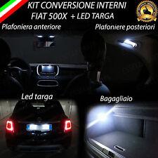 KIT FULL LED INTERNI FIAT 500X KIT COMPLETO CANBUS + LED TARGA 6000K NO ERROR