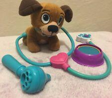 ALOHA! Disney Store Doc McStuffins Puppy Dog Plush Toy w/ Doctor Set & Bowl