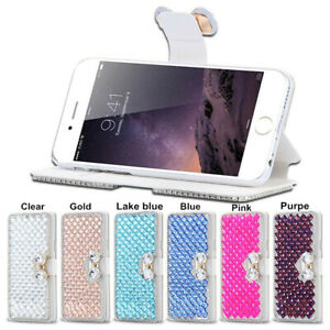 For OnePlus Nord N200 5G Case, Bling Crystal Diamonds leather stand wallet cover