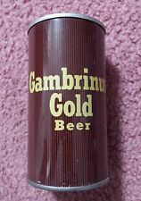 GAMBRINUS GOLD BEER CAN