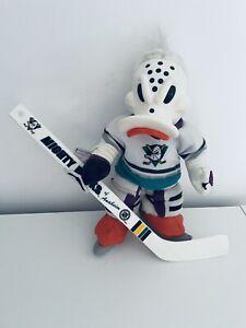 Vintage NHL Ice Hockey Anaheim Mighty Ducks Wild Wing Mascot Plush Russ Berrie
