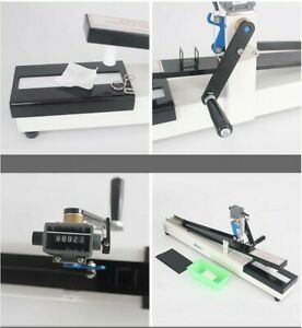 Color fastness fabric printing dyeing textile fabric dry & wet friction Tester