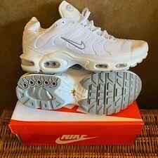 Nike Max Plus Size 10  - White