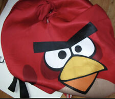 Adult Angry Birds Red Bird Costume New 3pc Suit & 2 Pillow Pouches Rovio