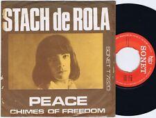 "STASH DE ROLA Peace Danish 45PS 1966 Stanislas Klossowski Johnnie Dee Dylan 7"""