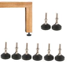 8pcs Machine Table Leveler Leveling Feet Glides Height Adjustable 50-M10X50