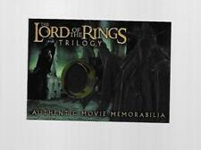 2004 TOPPS CHROME LORD OF THE RINGS THE WITCH-KING'S ROBE COSTUME CARD