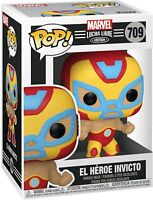 Funko Pop! Marvel: Luchadores - Iron Man Vinyl Figure