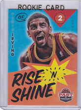 KYRIE IRVING ROOKIE CARD Cleveland Cavaliers RC Past & Present RISE N' SHINE LE!