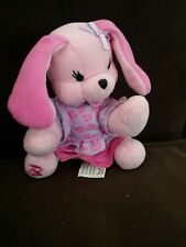 "2001 Barbie pink doggy Bean Bag Plush with clothes 4 1/2"" 3+ Mattel"