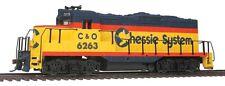 Spur H0 - US Diesellok GP9M Chessie/Chesapeake & Ohio mit DCC -- 5100 NEU
