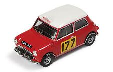 IXO RAC086 BMC Cooper S #177 Ganador Rally Monte Carlo 67 R Aaltonen & H Liddon