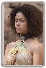 Nathalie Emmanuel, Missandei,  Game Of Thrones Crown Fridge Magnet 02