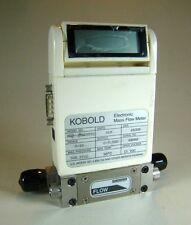 Kobold /Sierra 500 PSIG Mass Flow Meter, Model MAS-3010HPS1, 0-10 SLM Ar, 316 SS