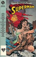 THE DEATH OF SUPERMAN (1993) DC Comics TPB 1st Printing VERY FINE